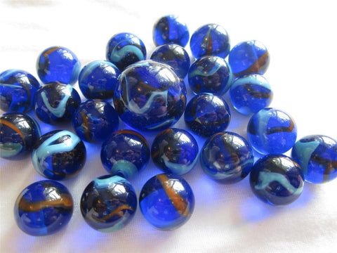 25 DRAGONFLY Glass Marbles