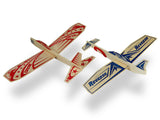 6 Guillow's Super Hero Balsa Wood Gliders ~Reverso and DareDevil