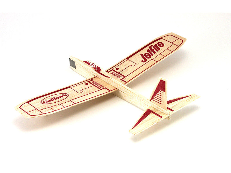 6 Guillow's Jetfire Balsa Wood Gliders