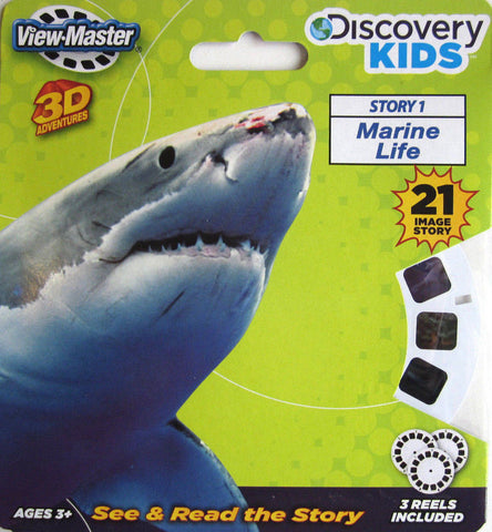 Marine Life 3D View Master Reels