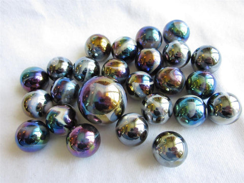 25 MILKY WAY Glass Marbles