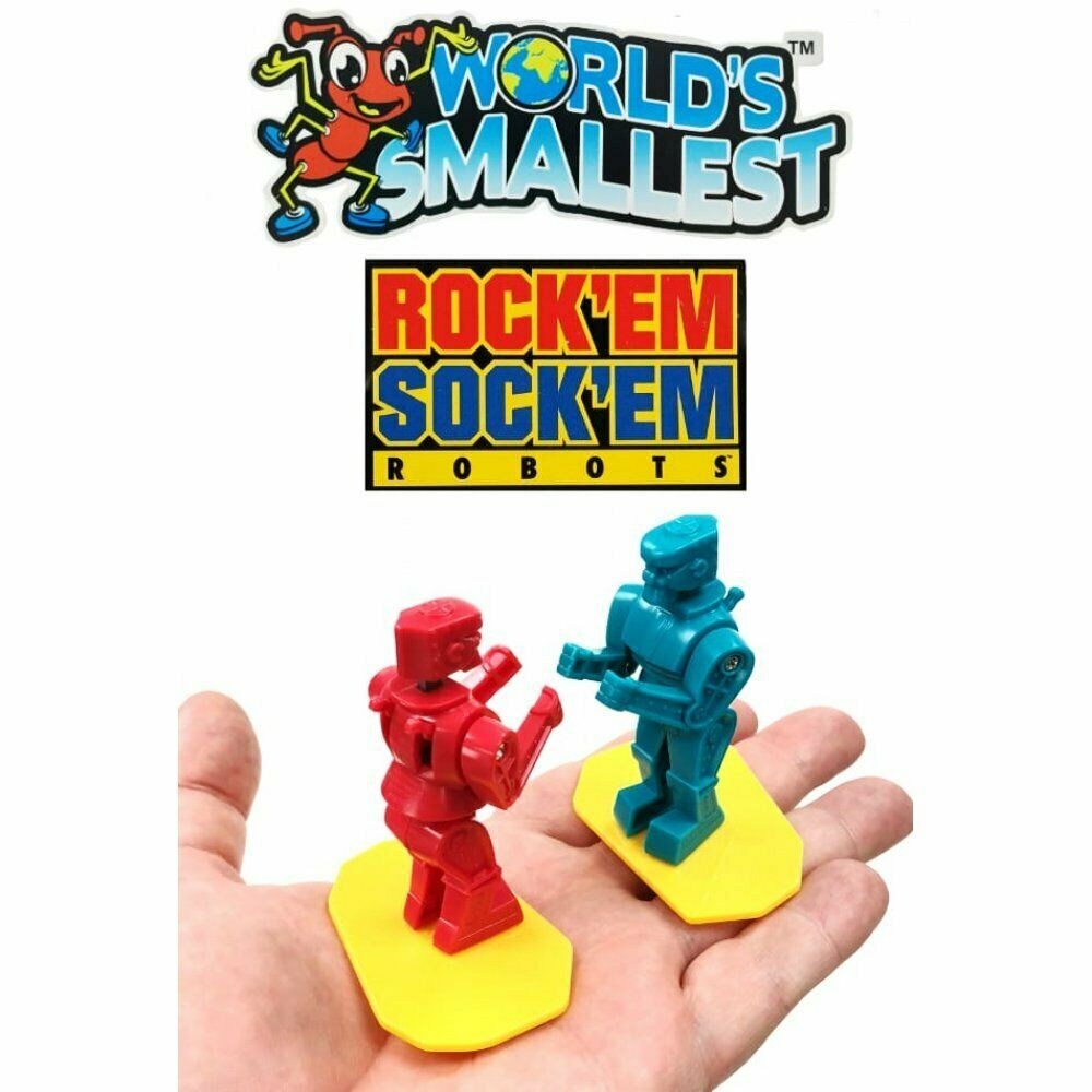 World's Smallest ROCKEM' SOCKEM' ROBOTS
