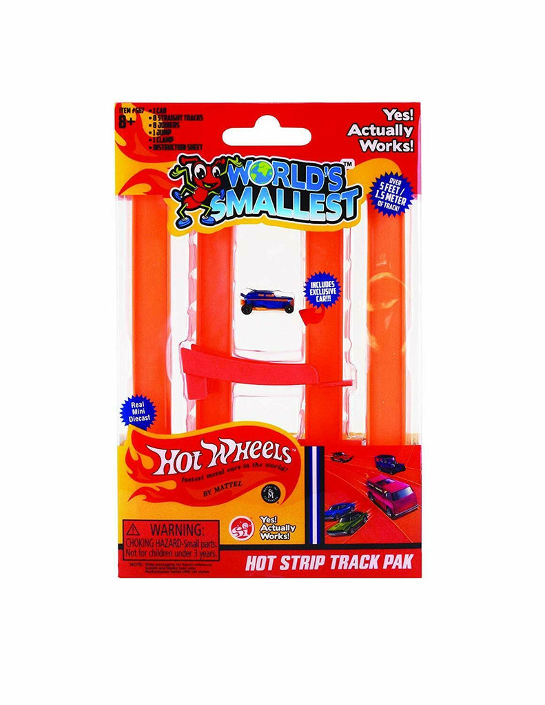 World's Smallest Hot Wheels HOT STRIP JUMP SET