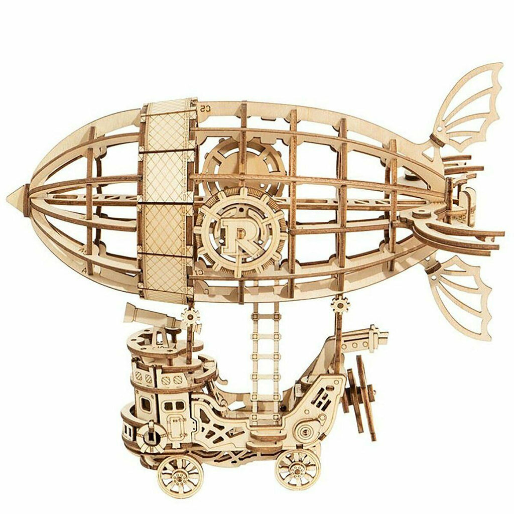 AIRSHIP Wood Model Kit ROKR 3D Puzzle