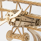 AIRPLANE Wood Model Kit ROKR 3D Puzzle