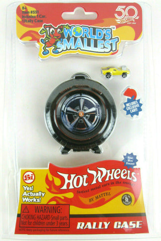 World's Smallest Hot Wheels Rally Case