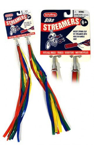 Retro Bike Streamers