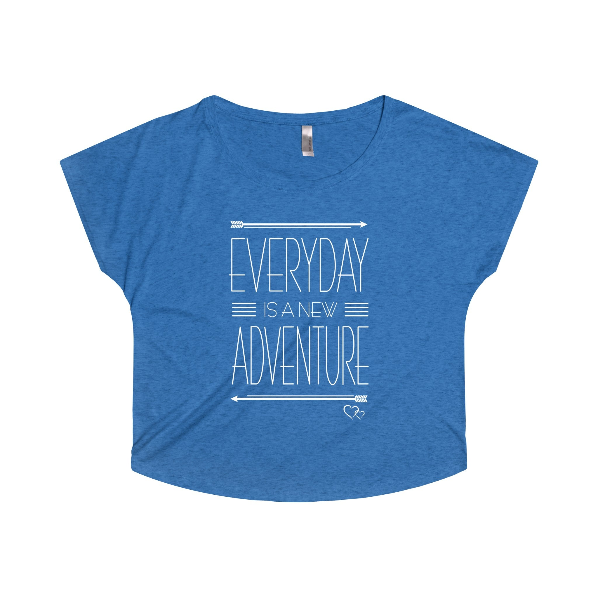 EVERYDAY ADVENTURE - Loose Dolman Sleeve