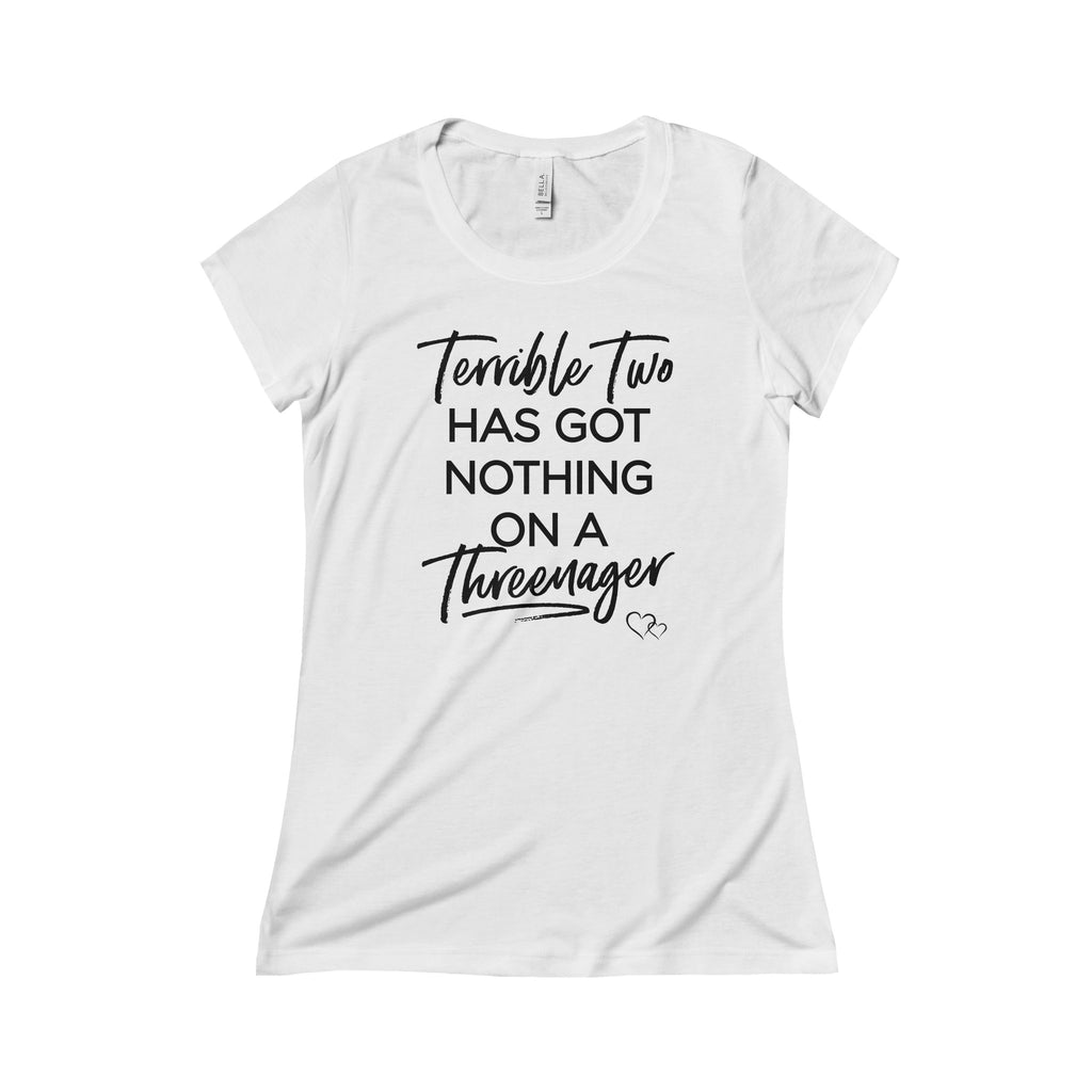 TERRIBLE TWO / THREENAGER - Triblend Short Sleeve