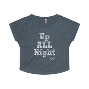 UP ALL NIGHT - Loose Dolman Sleeve