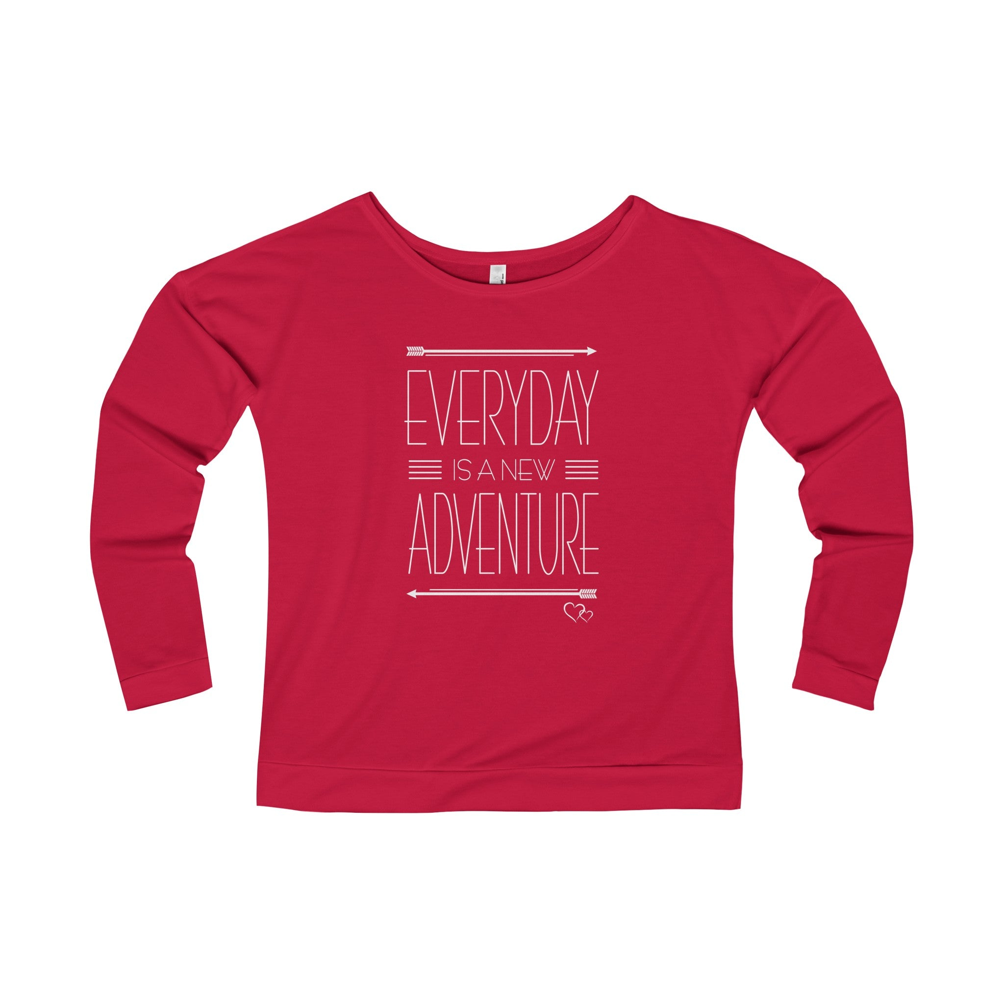 EVERYDAY ADVENTURE - Long Sleeve Scoop Terry T