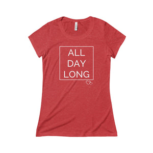 ALL DAY LONG - Triblend Short Sleeve