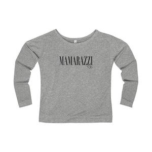 MAMARAZZI - Long Sleeve Scoop Terry T