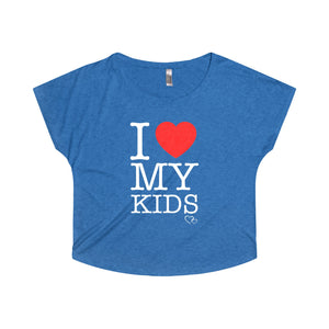 I LOVE MY KIDS - Loose Dolman Sleeve