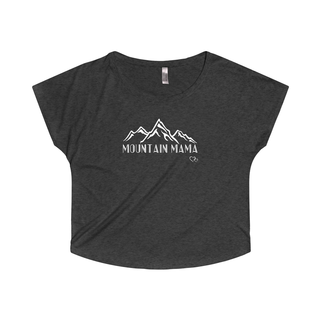 MOUNTAIN MAMA - Loose Dolman Sleeve