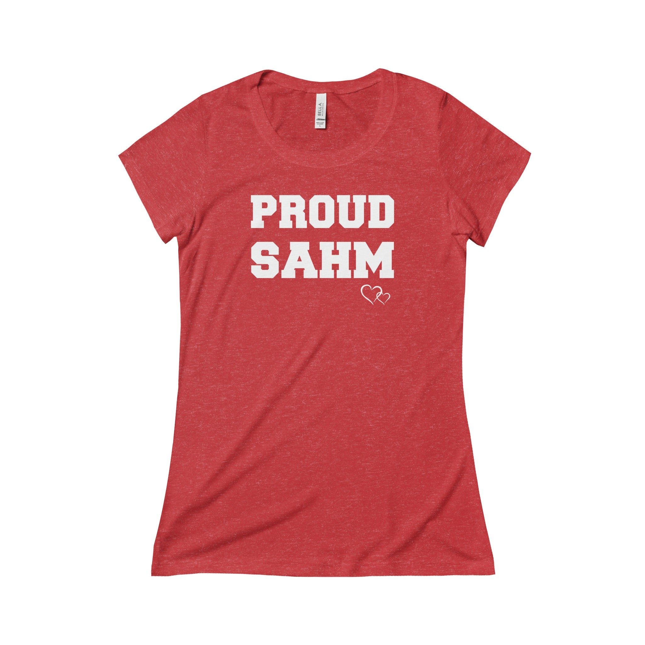 PROUD SAHM - Triblend Short Sleeve