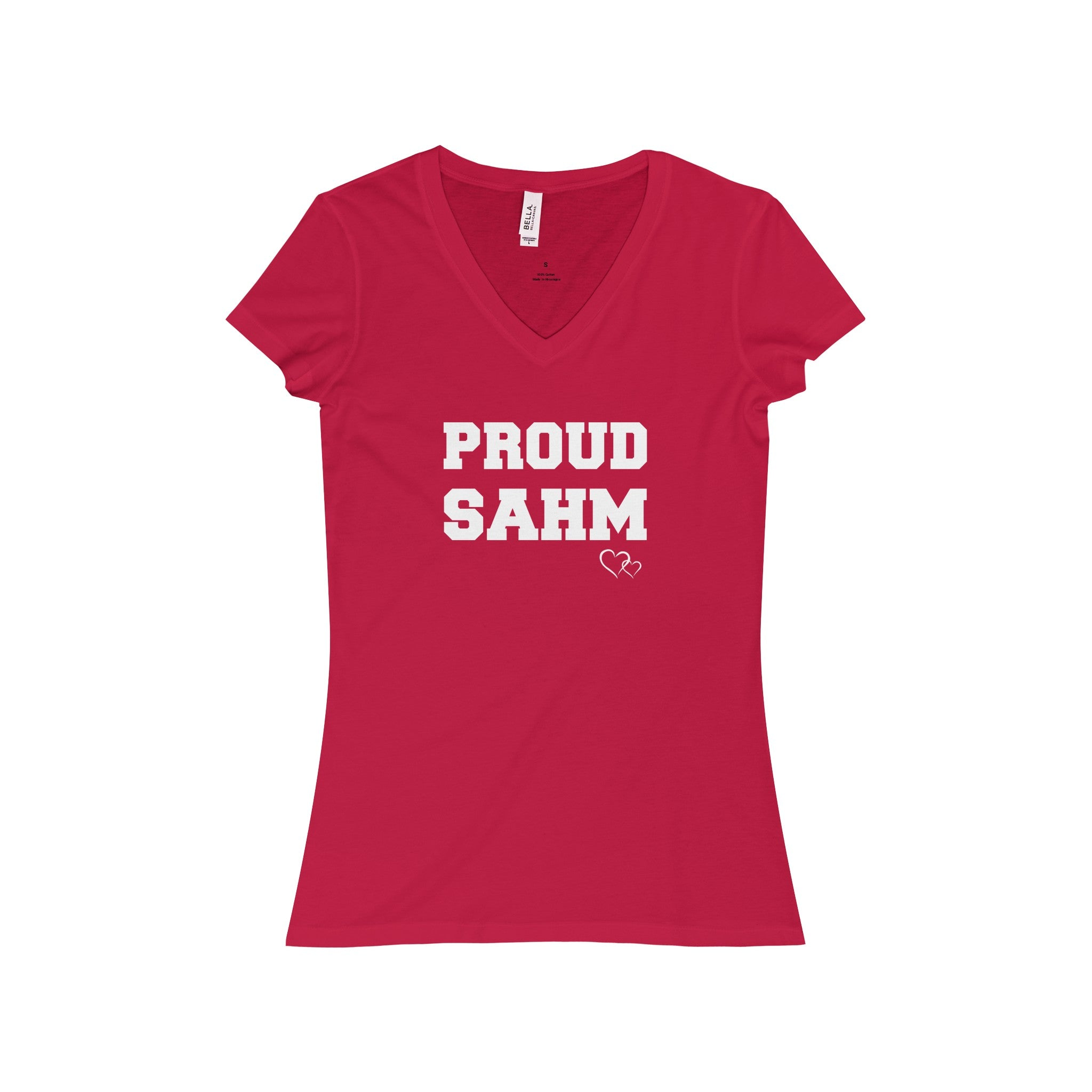 PROUD SAHM - Short Sleeve V