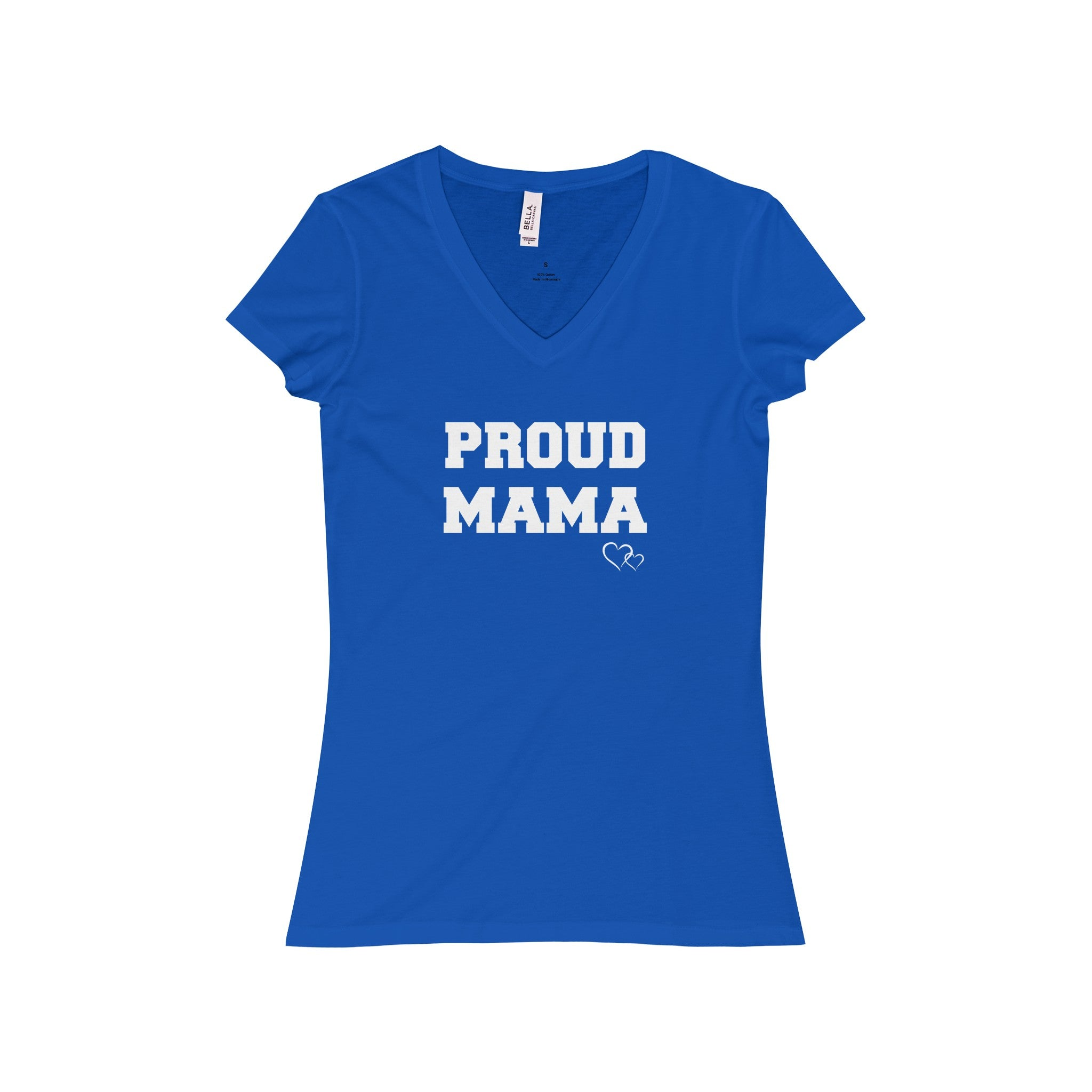 PROUD MAMA - Short Sleeve V