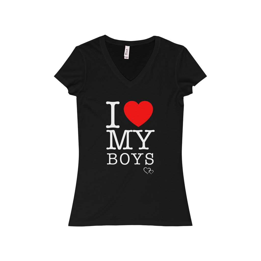 I LOVE MY BOYS - Short Sleeve V