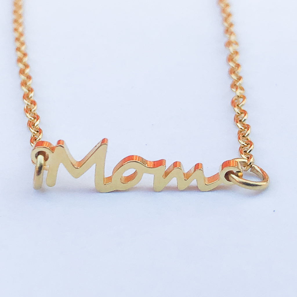 Small Mom Necklace