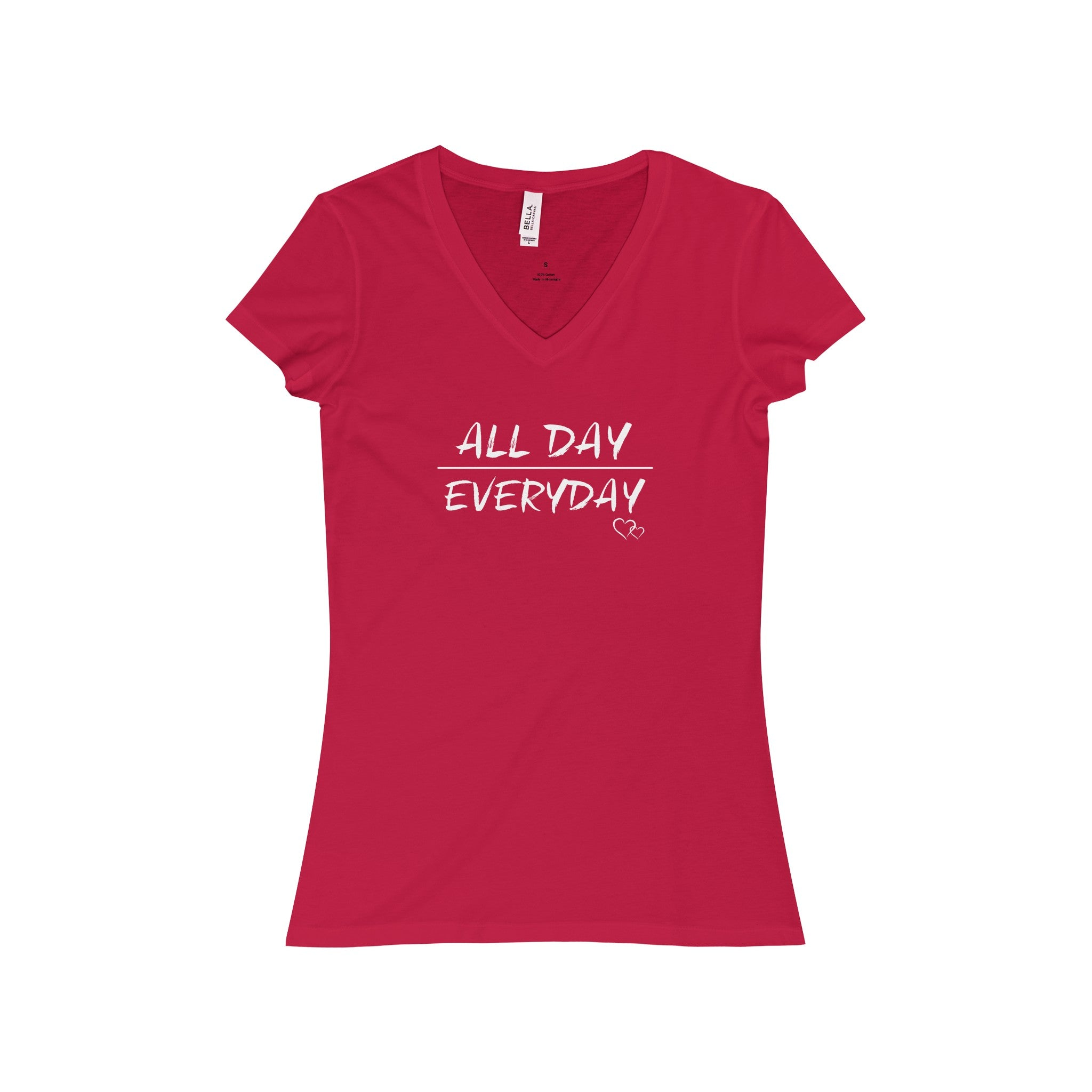 ALL DAY EVERYDAY - Short Sleeve V