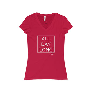 ALL DAY LONG - Short Sleeve V