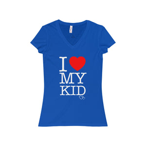 I LOVE MY KID - Short Sleeve V