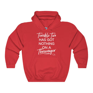 TERRIBLE TWO / THREENAGER - Hoodie (Unisex)