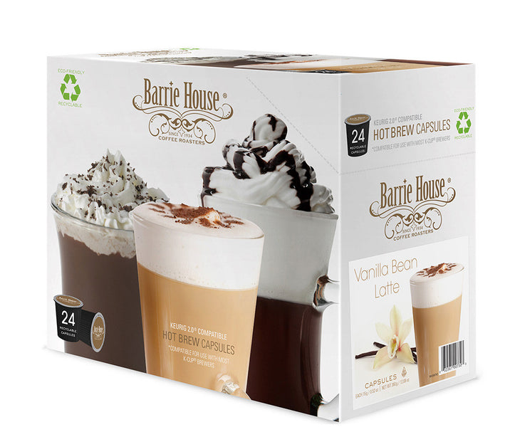 Barrie House Introduces New Latte Capsules