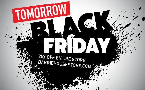 Black Friday Sale Tomorrow!