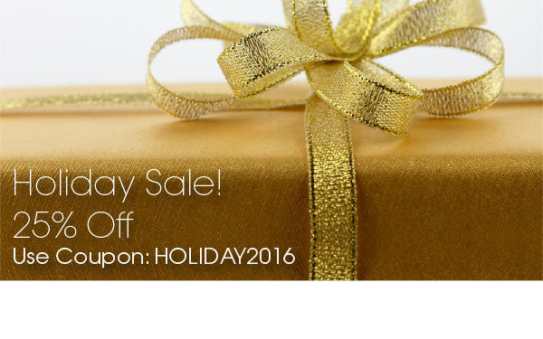 Holiday Sale 25% Off