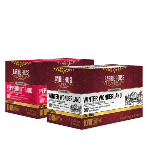 Winter Favorites<br>Flavored Coffee<br>2 Packs / 10 ct Boxes