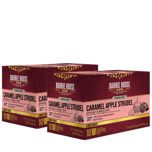 Caramel Apple Strudel<br>Flavored Coffee<br>2 x 10 ct Capsules (20 ct total)