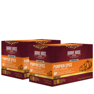 Pumpkin Spice<br>Flavored Coffee<br>2 Pack / 10 ct Boxes