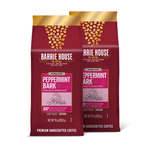Peppermint Bark<br> Flavored Coffee<br>2 Pack / 10 oz Bags