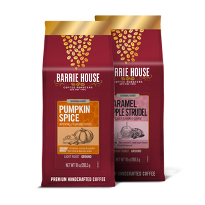 Fall Favorites Assortment<br> Flavored Coffee<br>2 Pack / 10 oz Bag (20 oz Total)
