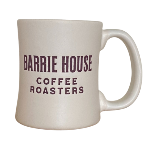 Barrie House 14oz White Ceramic Diner Mug