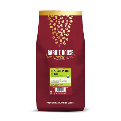 Descafeinado<br>Fair Tade Organic Coffee<br>2 lb Bag - Whole Bean
