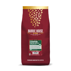 Ethiopian Yirgacheffe<br>Fair Tade Organic Coffee<br>2 lb Bag - Whole Bean