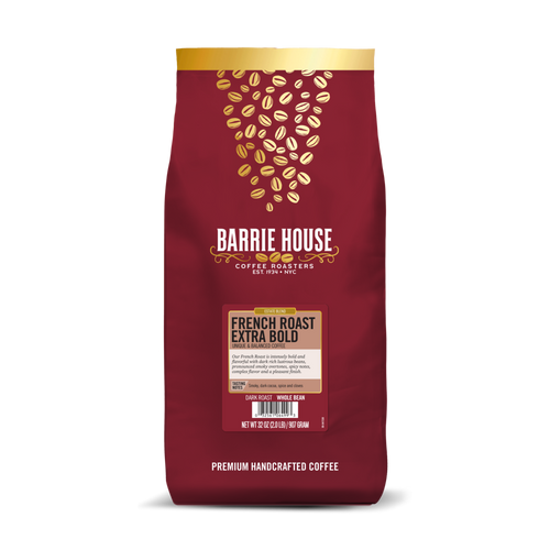 French Roast Extra Bold<br>2 lb Bag - Whole Bean<brb>