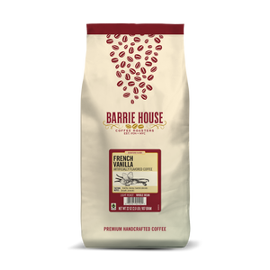 French Vanilla<br>Fair Trade Flavored Coffee<br>2 lb Bag - Whole Bean