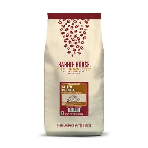 Salted Caramel<br>Fair Trade Flavored Coffee<br>2 lb Bag - Whole Bean