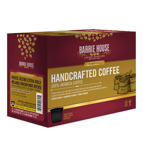 House Blend Extra Bold<br>Estate Blend<br>24 ct - Single Serve Capsules
