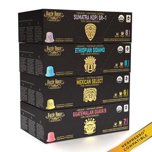 Single Origin Espresso<br>FTO Capsules<br>160 ct Variety Pack