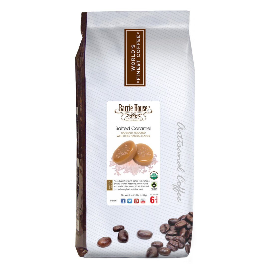 Salted Caramel FTO<br>Whole Bean<br>2.5 lb Bag