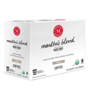 Martha's Blend<br>Single Serve Capsules<br>22 ct