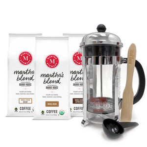 Martha Stewart Coffee<br>French Press<br>Gift Set