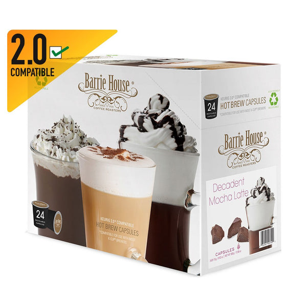 Barrie House Decadent Mocha Latte Capsules 4/24 ct
