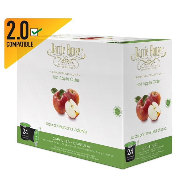 Barrie House Hot Apple Cider Single Cup Capsules 24 ct