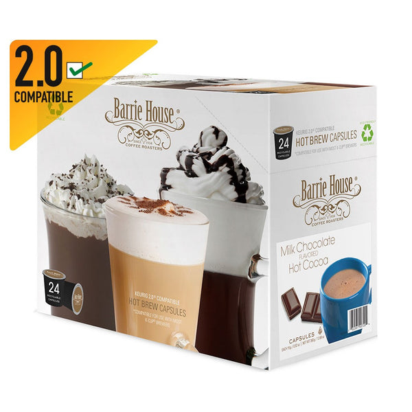 Milk Chocolate Hot Cocoa Capsules 4 /24 ct